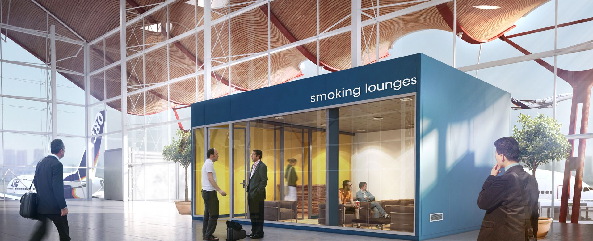 Smoking lounges